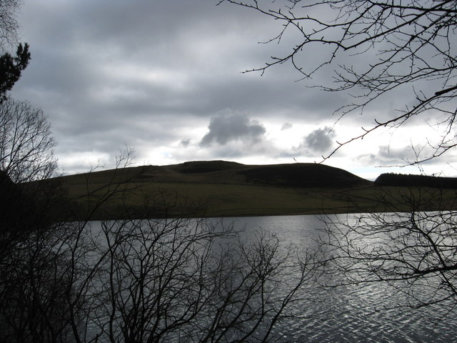 Another view of Cauldshiels Loch