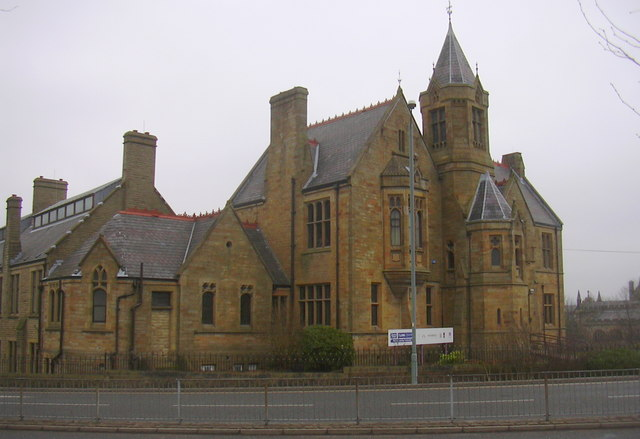 Part of Burnley College