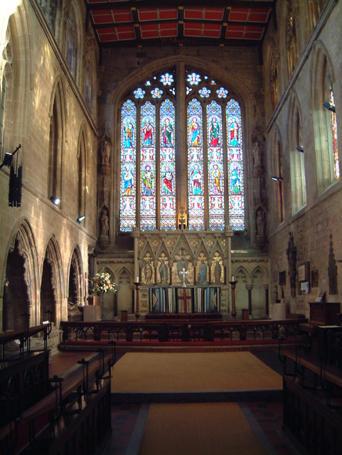 St Editha's Church, Chancel  (2)