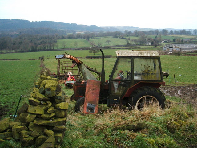 Moribund tractor and other agricultural equipment