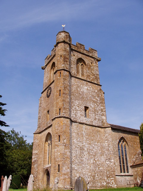 The Church Tower of St. Mary The Virgin, East Chinnock