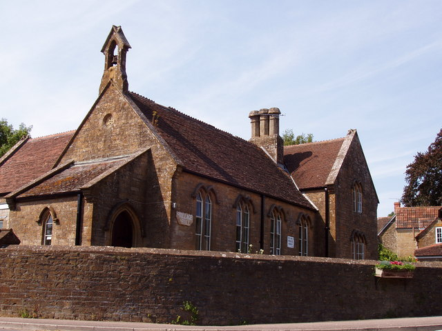 The 'Old Village School', East Chinnock
