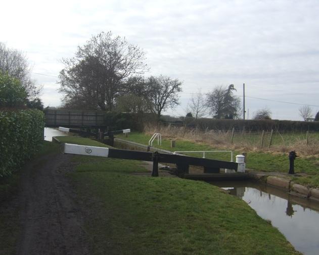 Worcester & Birmingham Canal - Lock 27
