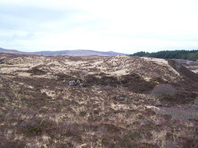 Moorland above Glen Varragill