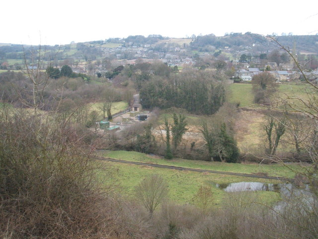 Amber Valley, with Ashover sewage works