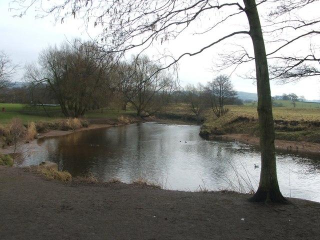River Wyre at Garstang