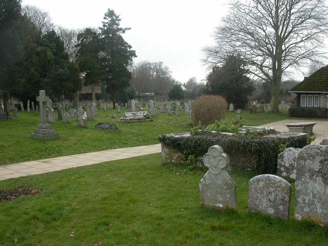 Kinson, St Andrew's churchyard