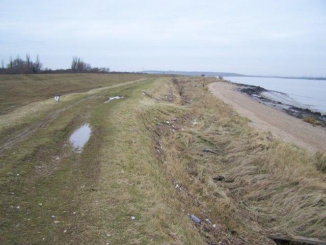 Footpath along Sea wall