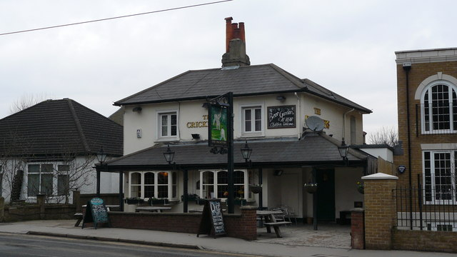 The Cricketers, Addiscombe Road