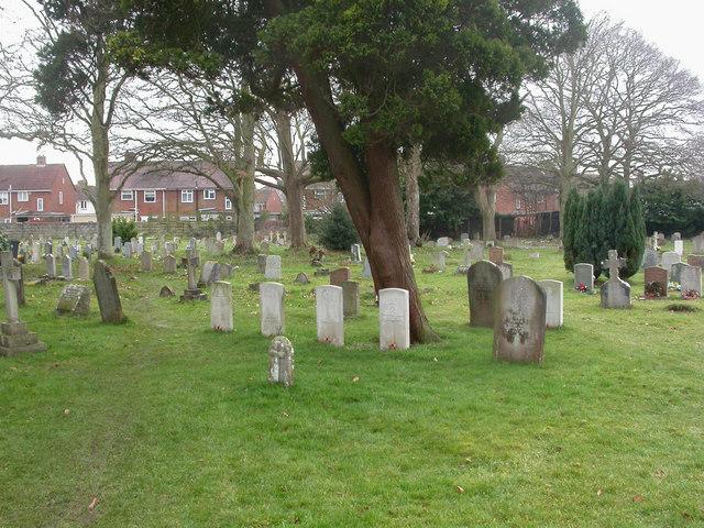 Kinson, war graves
