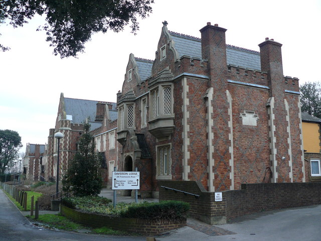 Davidson Lodge, Freemasons Road