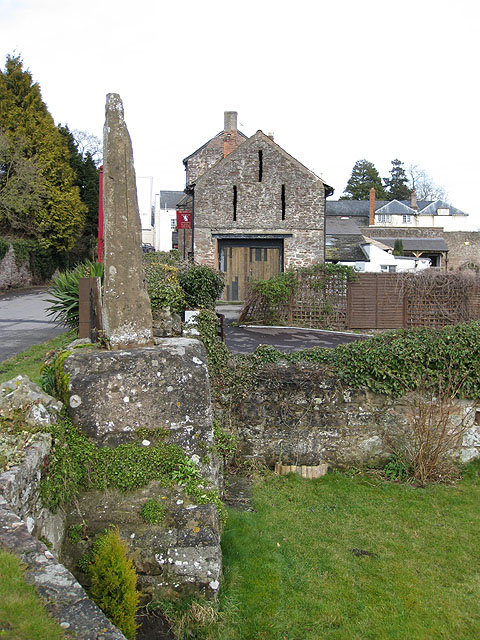 Remains of the old wayside cross