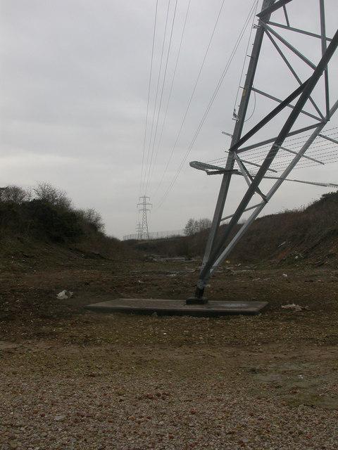 Kinson, pylons