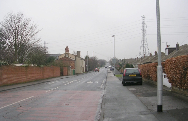 Baker Lane - viewed from Rooks Nest Road