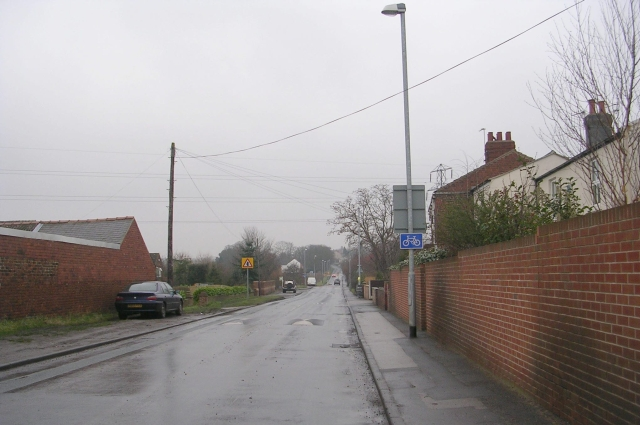 Rooks Nest Road - viewed from Baker Lane