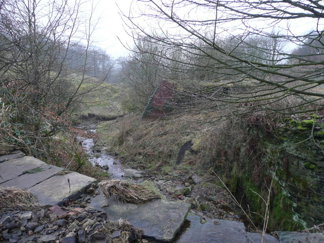 Site of Hawthorn Mill - Folly Clough