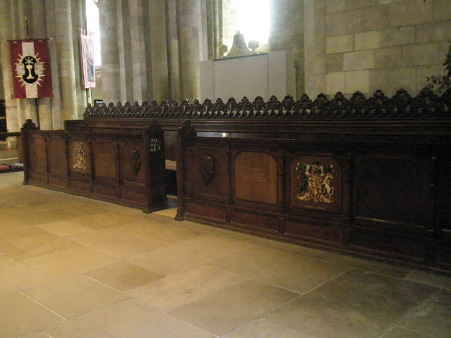 The chancel, Romsey Abbey