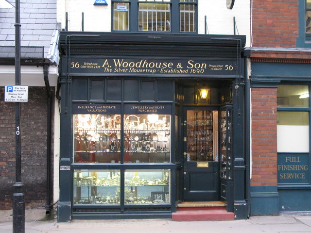 A Woodhouse & Son - The Silver Mousetrap