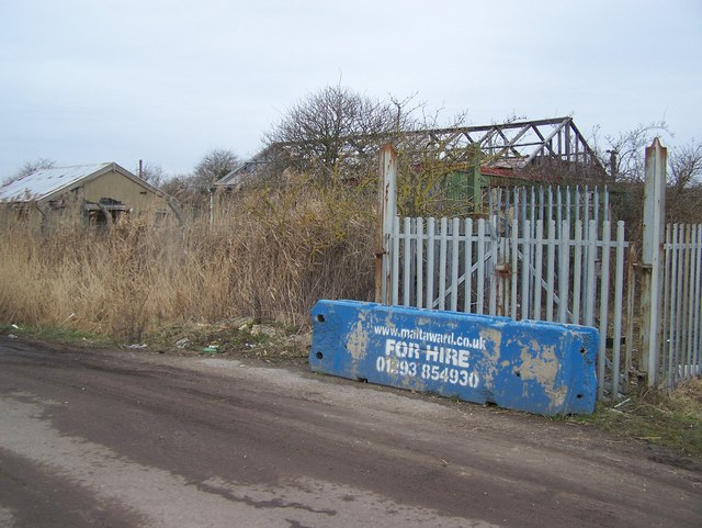 Former factory on Joyce Green Lane