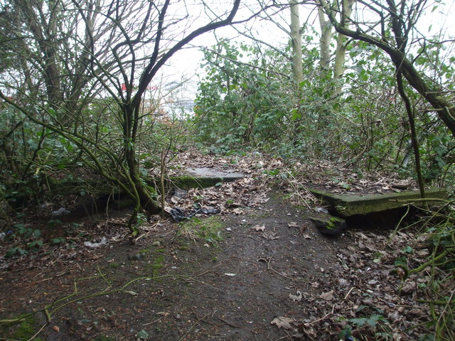 Remains of Norwich City M&GN station