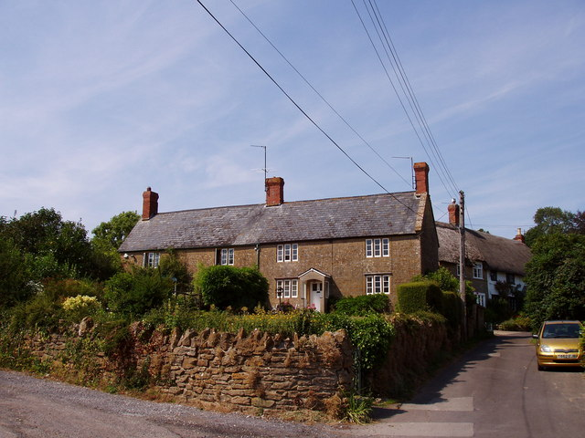 Cottages at College, East Chinnock