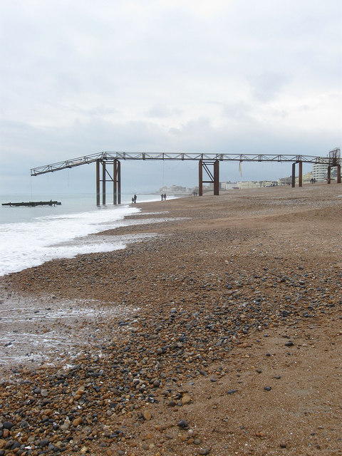 Former Walkway to the West Pier