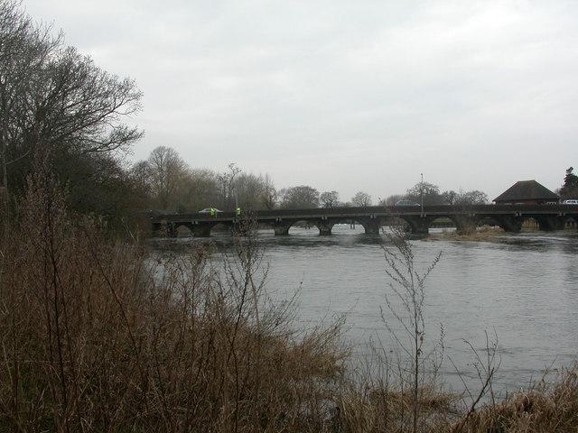 Longham Bridge & River Stour