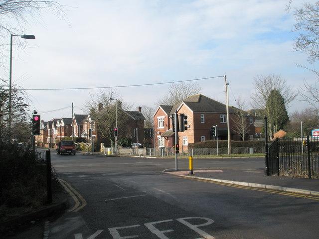 Crossroads of Station, Malmesbury and Alma Roads