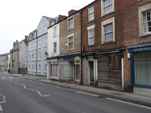 Warminster - Disused Shops