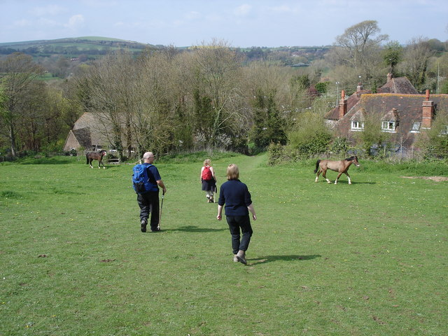 South Downs Way - south of Litlington