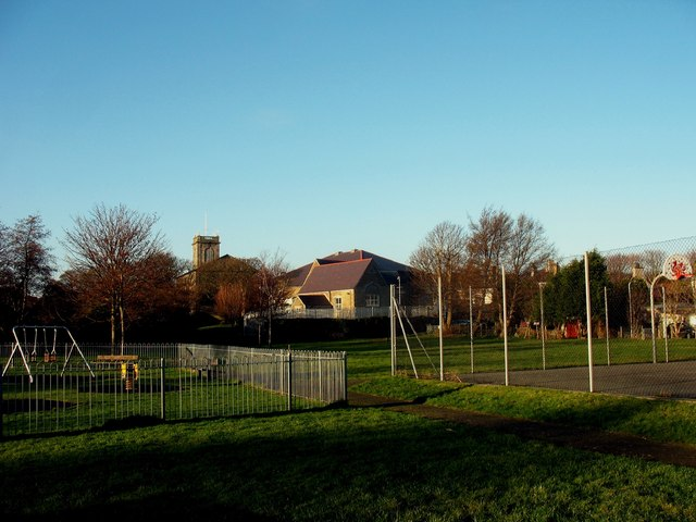 The Lon Goch Recreation Ground