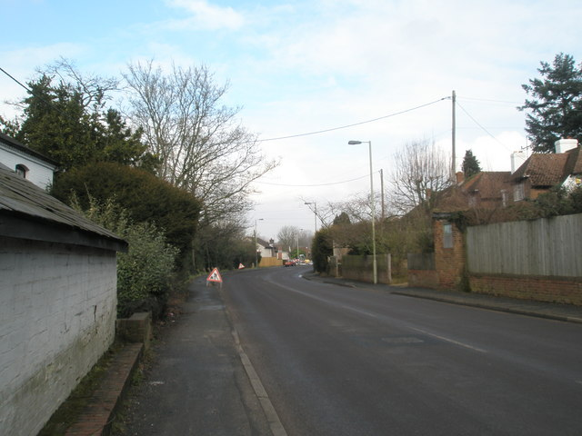 Looking northwards up Capernham Lane