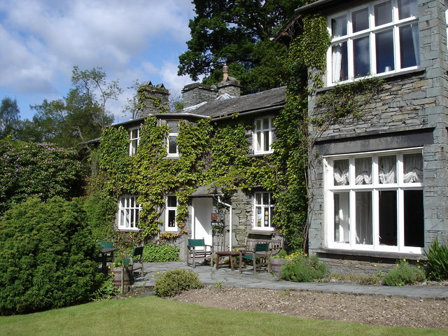 White Moss House hotel - near Rydal Water