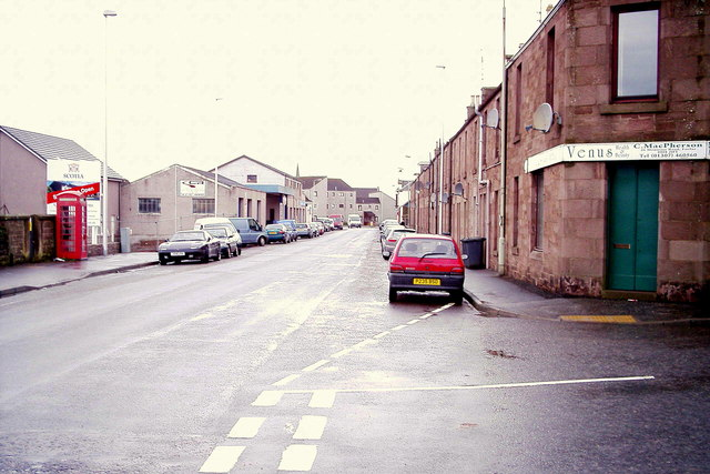 Montrose Road, Forfar