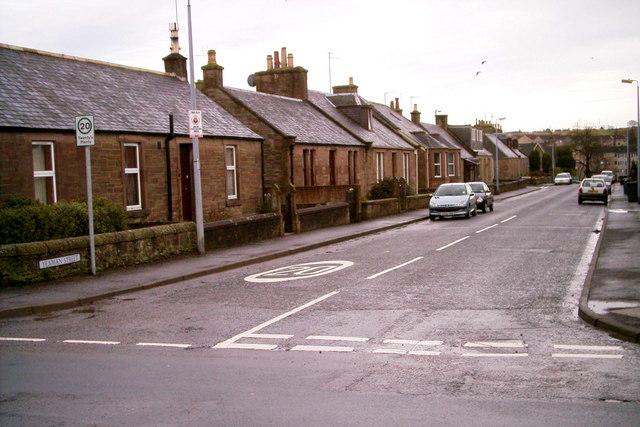 View of Yeaman Street, Forfar