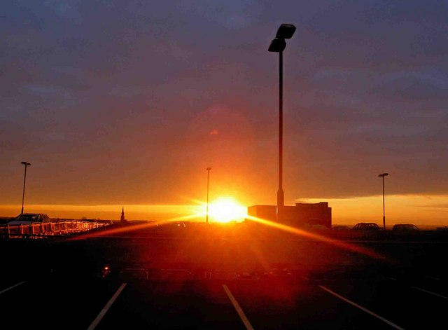 Doncaster sunrise