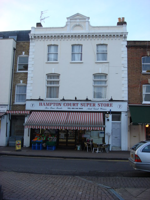 Hampton Court Super Store, 7 Bridge Road