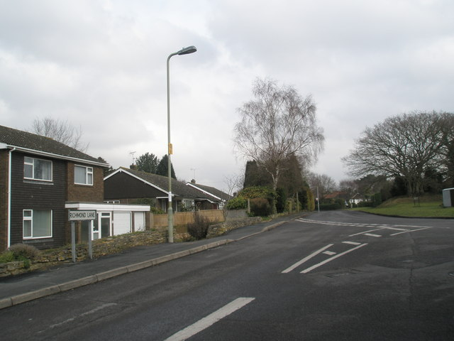 Junction of Woodley and Richmond Lanes