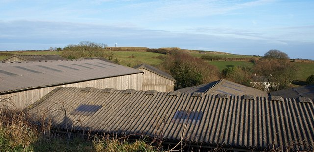 Roofs at Coleton Farm