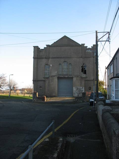 The disused Bethel Wesleyan Chapel