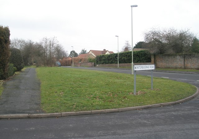 Junction of Winterbourne Road and Braishfield Road