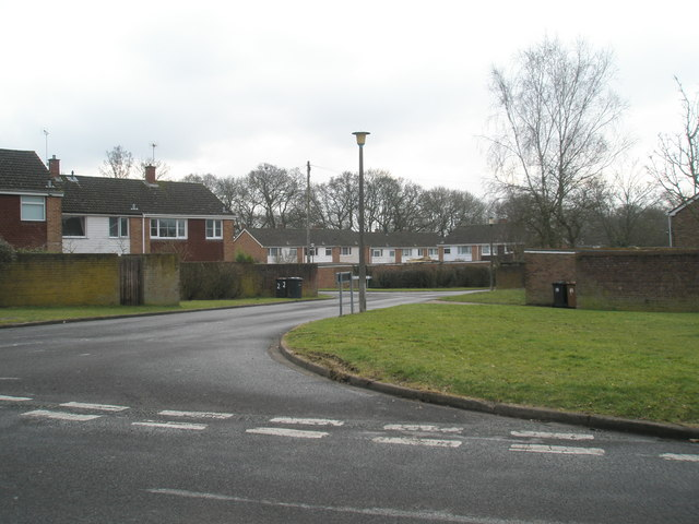 Junction of Winterbourne Road and Beverley Gardens