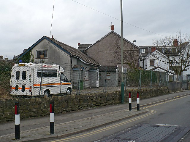 St Johns Ambulance HQ, Pandy Road, Bedwas