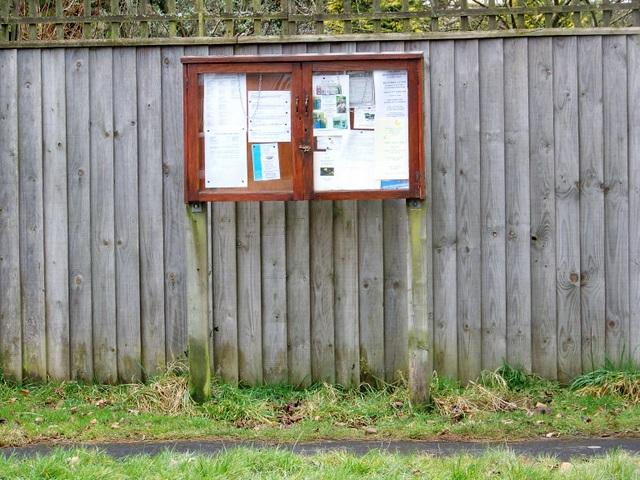 Notice board, Charlton