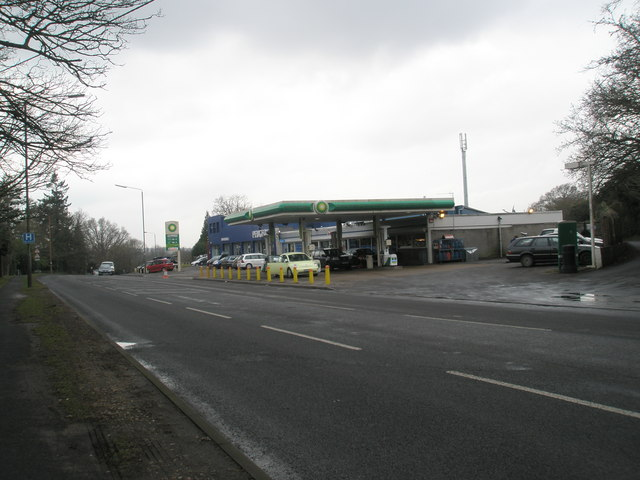 BP Garage on the Winchester Road