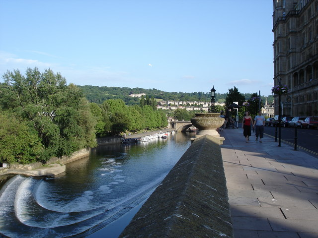 Bath - River Avon from Grand Parade