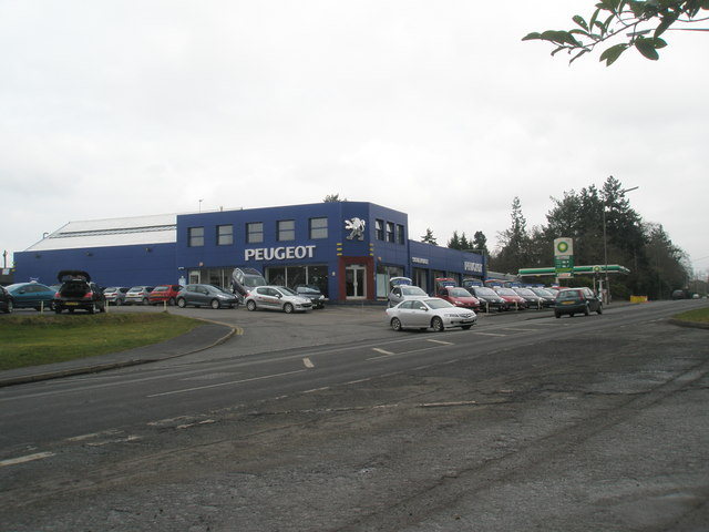 Peugeot Garage on the Winchester Road