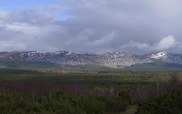 Rothiemurchus and Meall a' Bhuachaille 810m