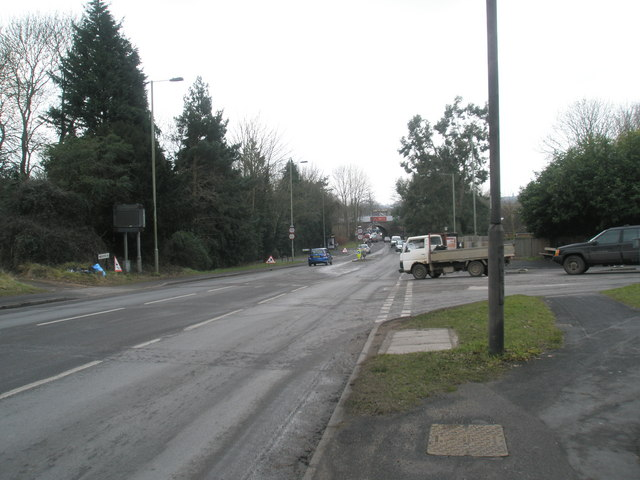 Junction of Winchester Road with the Winchester Road