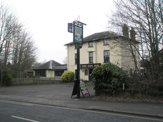 The Sun Inn on the Winchester Road